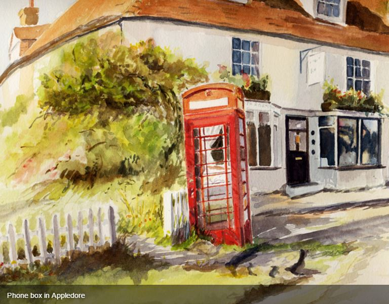 Folkestone & OTHER PLACES - Watercolour Studio artist Beatrice Cloake N.A.P.A ...