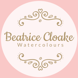 Beatrice Cloake Watercolour studio